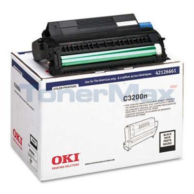 OKIDATA C3200 IMAGE DRUM BLACK